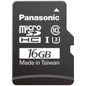 パナソニック RP-SMGB16GJK 16GB Class3(Class10)対応microSDHC UHS−Iカード|yamada-denki