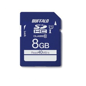 バッファロー RSDCY008U1S UHS-I Class1 SDカード 8GB|yamada-denki