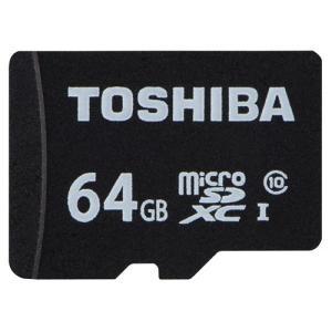 東芝 MSDAR40N64G MSDAR40Nシリーズ microSDXCメモリカード 64GB|yamada-denki