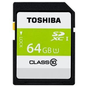 東芝 SDAR40N64G 高速SDXC UHS-Iメモリカード Class10対応 64GB|yamada-denki