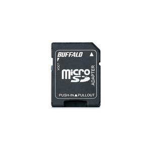 バッファロー BSCRYMSDA microSDカード/SDメモリーカード変換アダプター yamada-denki