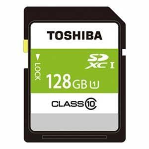 東芝 SDAR40N128G SDXCメモリカード 128GB Class10 UHS-I|yamada-denki