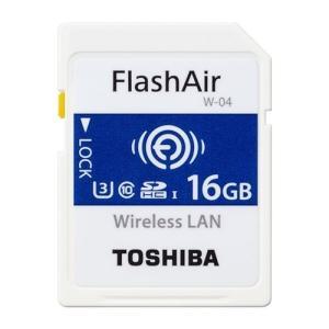 東芝 SD-UWA016G SDHC/SDXCメモリカード 「FlashAir」 16GB|yamada-denki