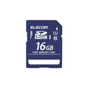 エレコム MF-DSD016GU11R  SDHCメモリカード(UHS-I 対応)|yamada-denki