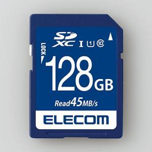 エレコム MF-FS128GU11R データ復旧SDXCカード(UHS-I U1) 128GB|yamada-denki