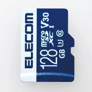 エレコム MF-MS128GU13V3R データ復旧microSDXCカード UHS-I U3 V30 128GB|yamada-denki