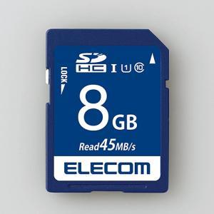 エレコム MF-FS008GU11R データ復旧SDHCカード(UHS-I U1) 8GB|yamada-denki