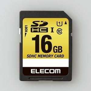 エレコム MF-CASD016GU11A ドラレコ/カーナビ向け 車載用SDHCメモリカード 16GB|yamada-denki
