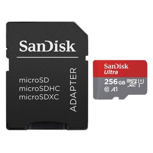 SanDisk ウルトラ microSDXC UHS-I カード 256GB SDSQUAC-256G-JN3MA|yamada-denki