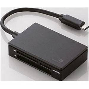 エレコム MR3C-A010BK メモリリーダライタ/USB TYPE-Cコネクタ/USB3.1GEN1|yamada-denki