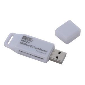 オーム電機 PC-SCRW3-W マイクロSD+SD用リーダー USB 33in1 ホワイト yamada-denki