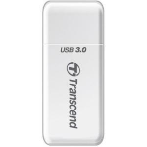 トランセンド・ジャパン USB3.0&2.0接続カードリーダーライター RDF5 ホワイト TS-RDF5W TS-RDF5W|yamada-denki