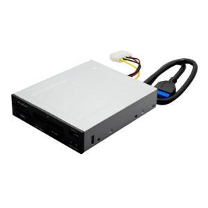 ミヨシ USR-DOS3 USB3.0対応 内蔵型カードリーダ・ライタ yamada-denki