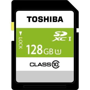 東芝 SDBR48N128G 128GB・UHS Speed Class1(Class10)対応SDXCカード|yamada-denki