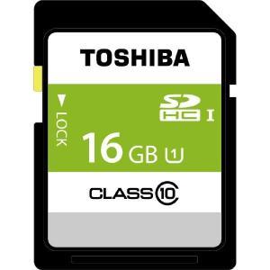 東芝 SDBR48N16G 16GB・UHS Speed Class1(Class10)対応SDHCカード|yamada-denki