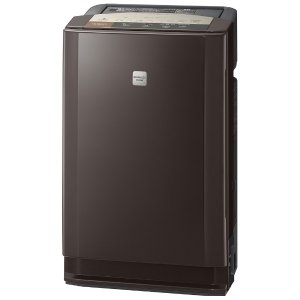 日立 EP-LV1000-T PM2.5対応除加湿空気清浄機 「ステンレス・クリーン クリエア」(空気清浄:〜31畳/加湿:〜14畳/除湿:〜16畳) ブラウン|yamada-denki
