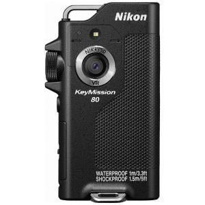 ニコン KEYMISSION80BK アクションカメラ 「(キーミッション)KeyMission 80」ブラック|yamada-denki