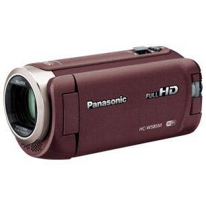 パナソニック HC-W585M-T デジタルハイビジョンビデオカメラ ブラウン|yamada-denki