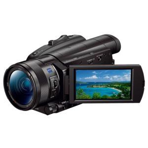 ソニー FDR-AX700 デジタル4Kビデオカメラレコーダー ハンディカム<br>01...