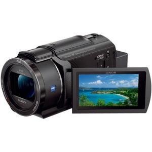 ソニー FDR-AX45-B 「Handycam(ハンディカム)」 デジタル4Kビデオカメラレコーダー ブラック|yamada-denki