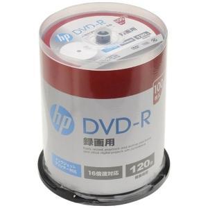 ヒューレットパッカード DR120CHPW100PA 16倍速対応DVD-R 120分 100枚パッ...