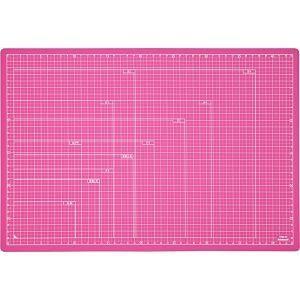 ナカバヤシ CTMO-A3-P 折りたたみカッティングマット A3サイズ ピンク|yamada-denki