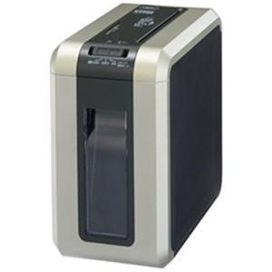 アコブランズジャパン GSHA17M-GB マイクロクロスカットシュレッダー(A4サイズ/CD・DVD・カードカット対応) ゴールド×ブラック|yamada-denki