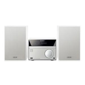 ソニー CMT-SBT40/W マルチコネクトコンポ (ウォークマン・CD対応) ホワイト<b...