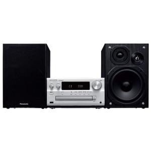 パナソニック SC-PMX80-S 【ハイレゾ音源対応】 CDステレオシステム シルバー|yamada-denki