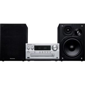 パナソニック SC-PMX90 CDステレオシステム ハイレゾ音源対応 シルバー CDコンポ