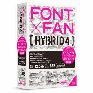 ポータル・アンド・クリエイティブ FONT x FAN HYBRID 4 FF08R1