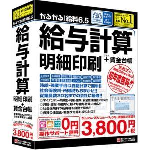 BSLシステム研究所 かるがるできる給料6.5 給与計算・明細印刷+賃金台帳 カルガルキュウリョウ6.5|yamada-denki