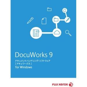富士ゼロックス DocuWorks9/トレイ2 インストールメディア/ライセンス認証版 SDWA161D