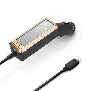 PGA PG-LFM24A01GD Lightningコネクタ専用 FMトランスミッター (ゴールド)|yamada-denki
