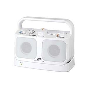 JVC SP-A850-W テレビ用ワイヤレススピーカーシステム 「みみ楽」 ホワイト|yamada-denki