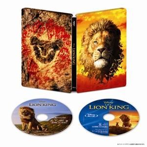 【4K ULTRA HD】ライオン・キング 4K UHD MovieNEX スチールブック(数量限定)(4K ULTRA HD+ブルーレイ)