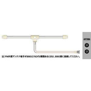 ビクター CN-511B  FMフィーダーアンテナ|yamada-denki