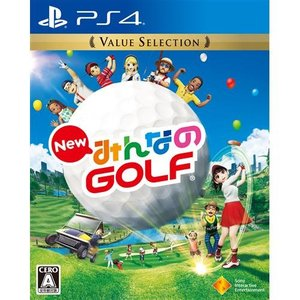 New みんなのGOLF Value Selection PS4 PCJS-66034|yamada-denki