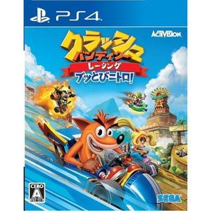クラッシュ・バンディクーレーシング ブッとびニトロ! PS4版 PLJM16443|yamada-denki