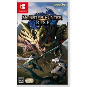 モンスターハンターライズ 通常版 Nintendo Switch HAC-P-AXSEA|ヤマダデンキ PayPayモール店