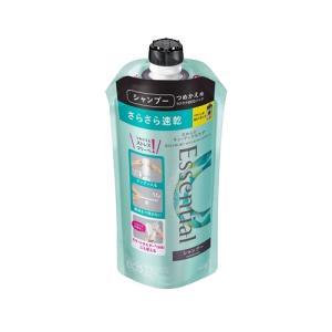 花王 エッセンシャル スマートブロードライ シャンプー つめかえ用 シャンプー 340mL|yamada-denki