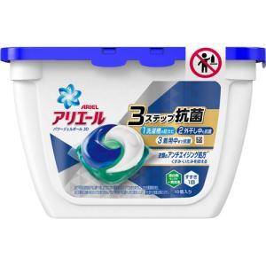 ピーアンドジー(P&G) アリエール 洗濯洗剤 パワージェルボール 3D 本体 (18個入) yamada-denki