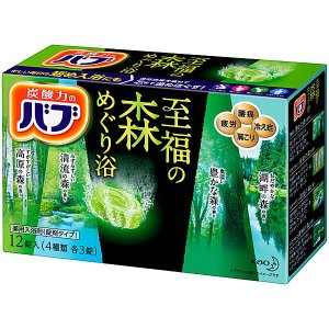 花王 バブ 至福の森めぐり浴 12錠入 入浴剤|yamada-denki