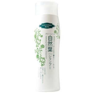 グリーンノート 自然葉シャンプー300ml|yamada-denki