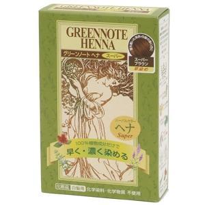 グリーンノート ヘナハーバルカラー・スーパーブラウン100g ヘアケア雑貨|yamada-denki