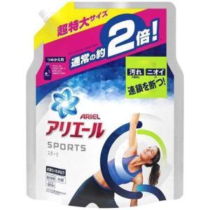 P&G アリエール ジェル プラチナスポーツ つめかえ用 超特大 1.34kg 洗濯洗剤|yamada-denki