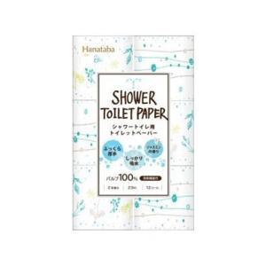 丸富製紙 花束ボタニカルシャワー トイレットロール パルプ 12ロール|yamada-denki