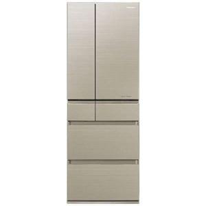 【無料長期保証】パナソニック NR-F503HPX-N 6ドアパーシャル搭載冷蔵庫 「HPXタイプ」(500L・フレンチドア) マチュアゴールド|yamada-denki