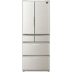 【無料長期保証】シャープ SJ-F462D-S プラズマクラスター搭載 6ドア冷蔵庫(455L・フレンチドア) シルバー系|yamada-denki