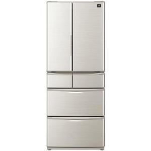 【無料長期保証】シャープ SJF461EN 6ドア冷蔵庫(455L・フレンチドア) シャンパンゴールド yamada-denki